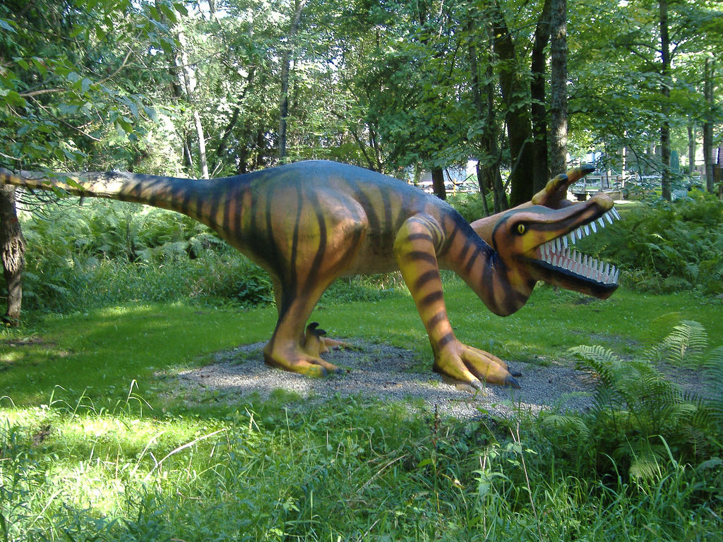 Michigan S Creepy Abandoned Dinosaur Theme Park
