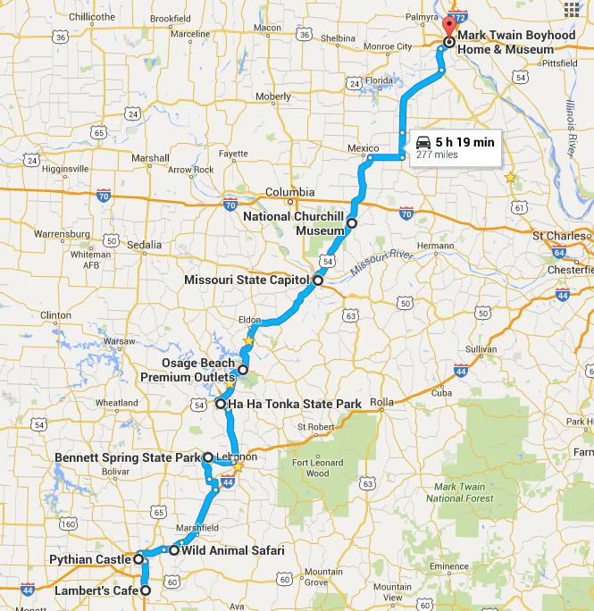 Missouri road trip