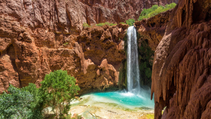 8 Grand Canyon Waterfalls In Arizona You Need To Hike To Right Now