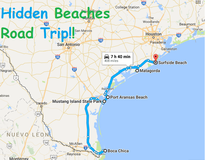 Boca Chica Texas Map This Road Trip Takes You To The Best Beaches In Texas