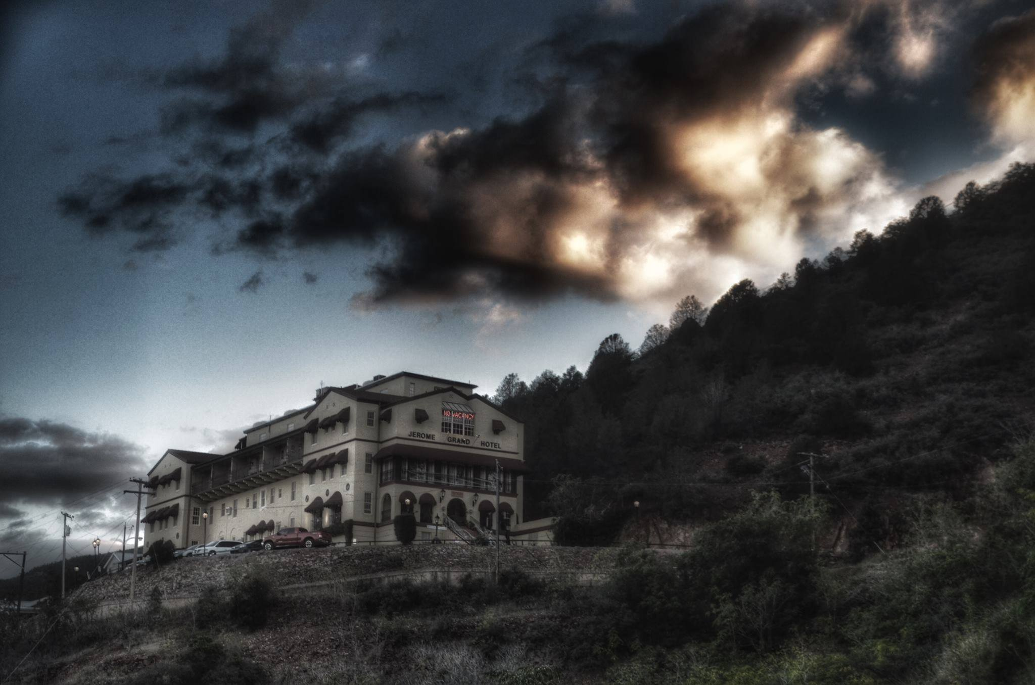 The Jerome Grand Hotel In Jerome Arizona Is One Of The Most Haunted Places