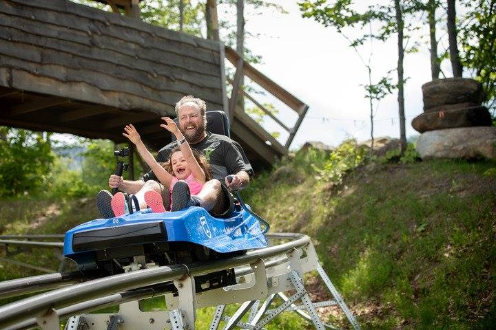 The Beast Is A Vermont Mountain Coaster You Ll Want To Ride Only In Your State