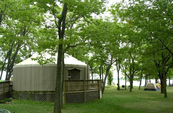 8 Campgrounds In Ohio With Amazing Yurts You Can Stay In They are a sturdy, reliable type of tent. only in your state