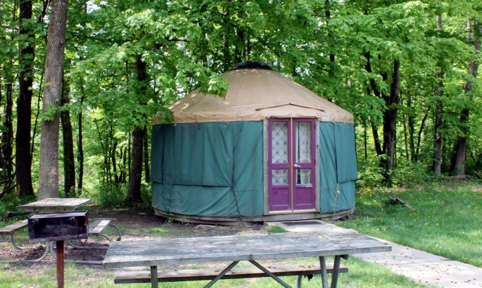 8 Campgrounds In Ohio With Amazing Yurts You Can Stay In How does yurt camping in ohio's appalachian foothills sound? campgrounds in ohio with amazing yurts