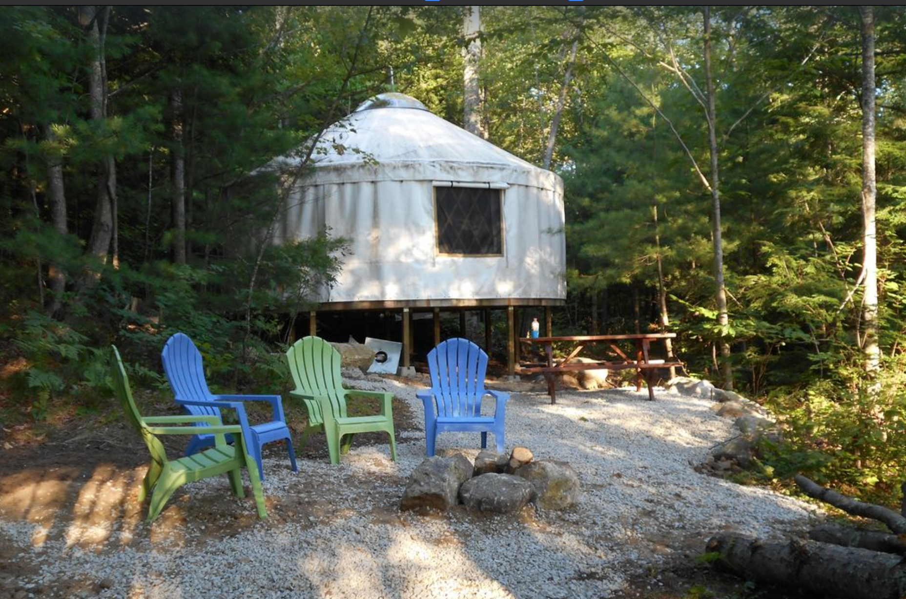 Stay In These 8 Incredible Yurts In New Hampshire For A Great Overnight Whether it's a lake winnebago yurt, wisconsin dells cabin, or geneva vacation rental, you're sure to find the perfect forget about vrbo, wisconsin is a wild state meant to be explored glamping. incredible yurts in new hampshire