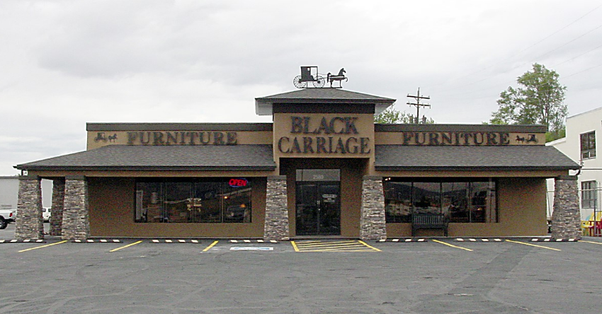 Black Carriage Furniture Is Colorado S, Black Carriage Furniture Grand Junction