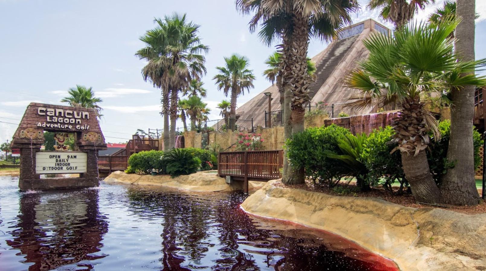 17+ Cancun lagoon mayan adventure golf viral