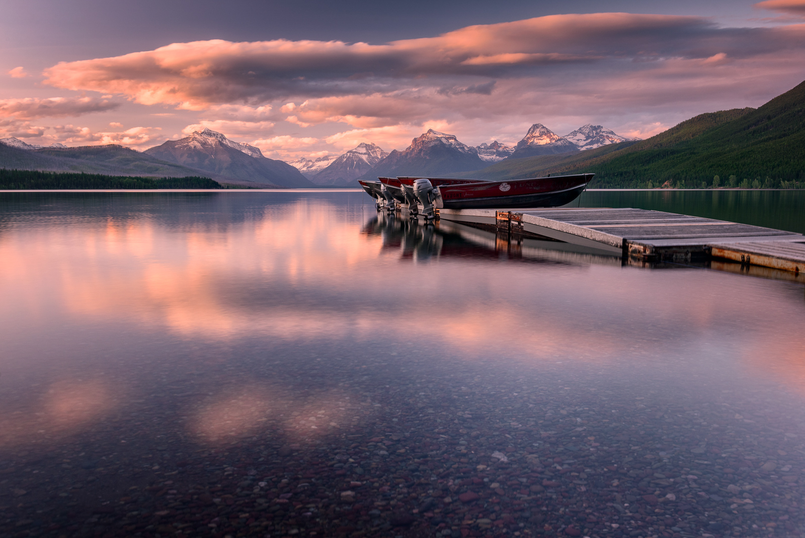 Glacier National Park In Montana Was Named One Of The 50 Most Beautiful Places In The World