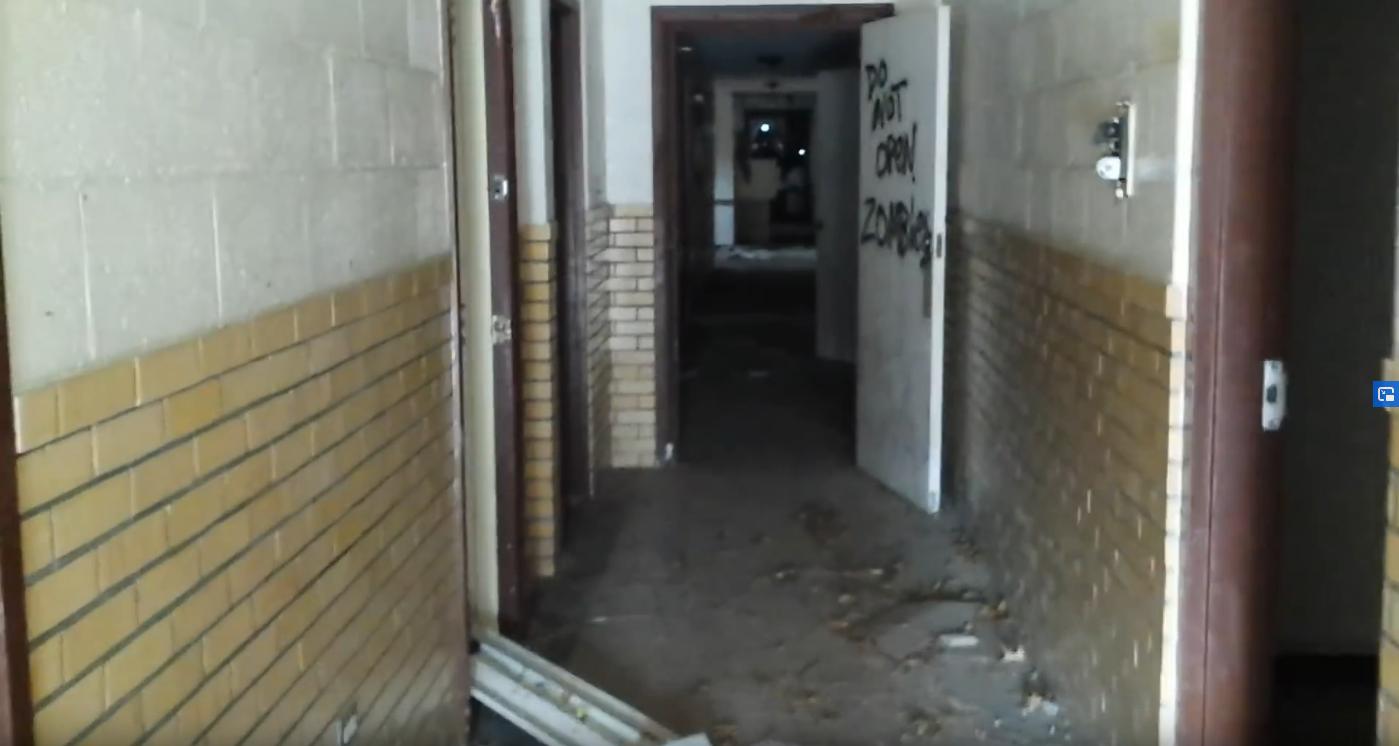 Footage Of An Abandoned Topeka Kansas Building