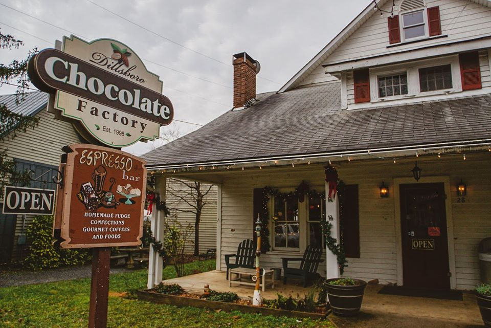 Chocolate Lovers Will Fall In Love With The Gourmet Creations At Dillsboro Chocolate Factory In North Carolina