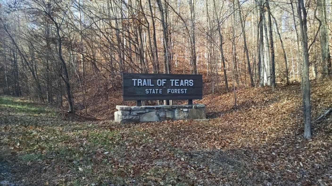 The Trail Of Tears In Illinois Winds Through 60 Miles Of Land of Lincoln History