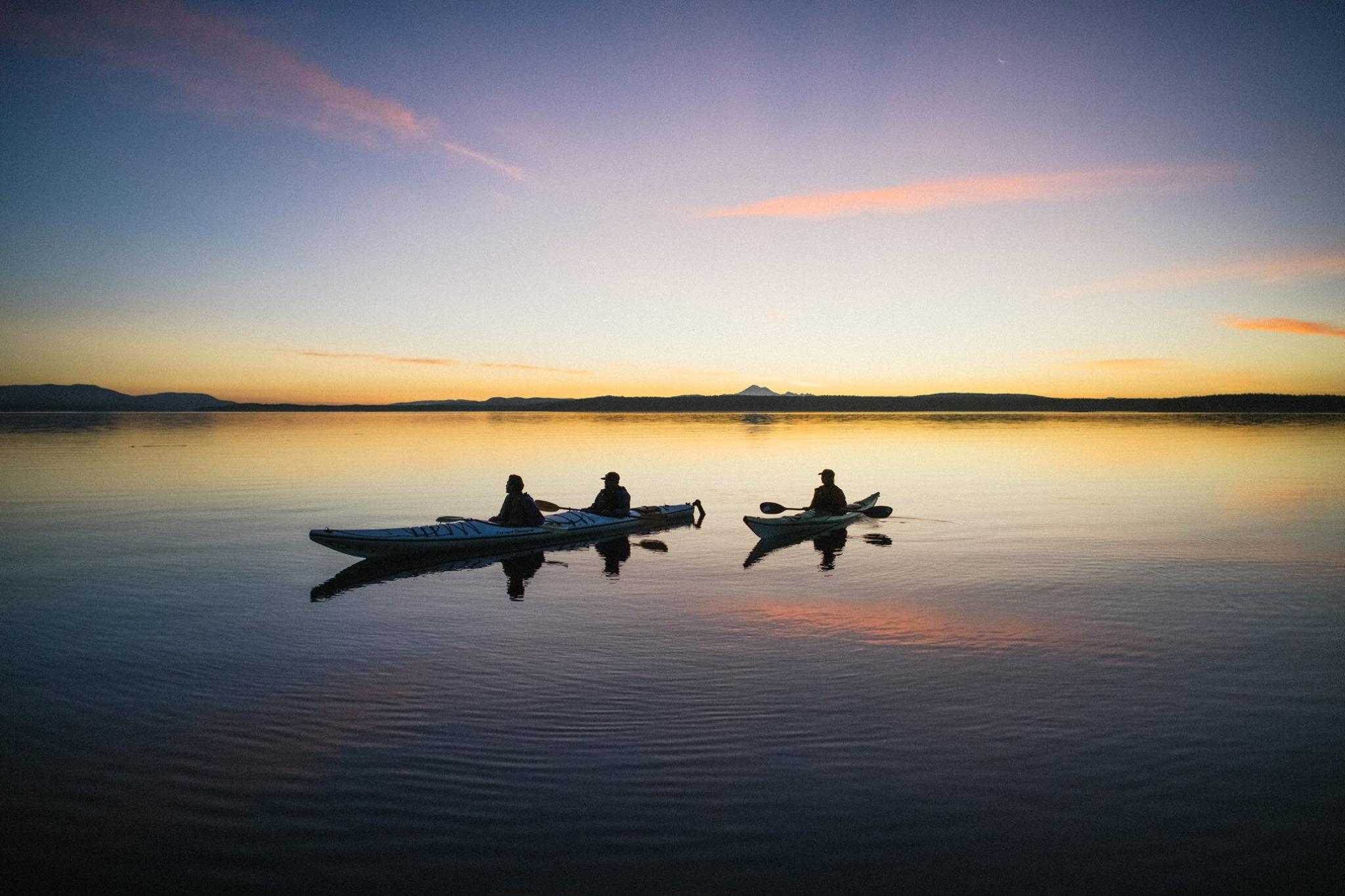 You Can Take A Magical Bioluminescence Kayak Tour In Washington