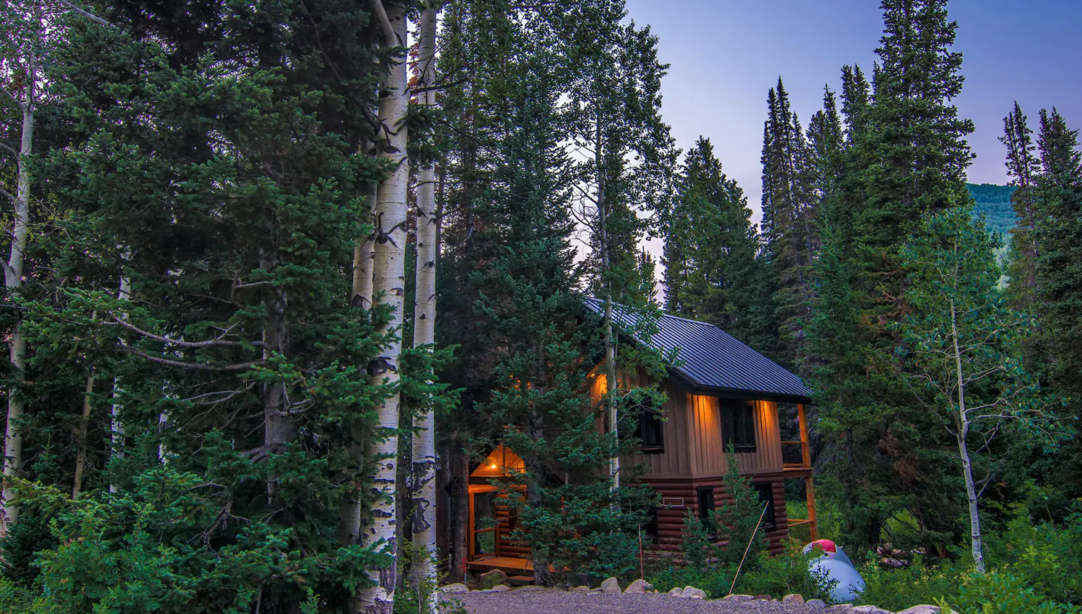 You'll Be Surrounded By A Lush Forest At This Pretty Mountain Cabin At Solitude Resort In Utah