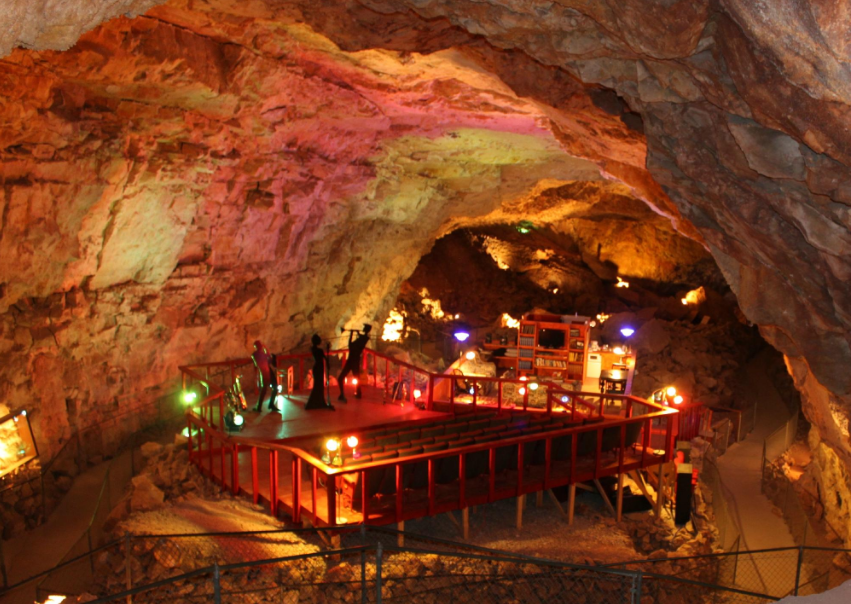 Venture Into The Deepest Place In Arizona At Grand Canyon Caverns, An Incredible Adventure Where There's Even A Restaurant