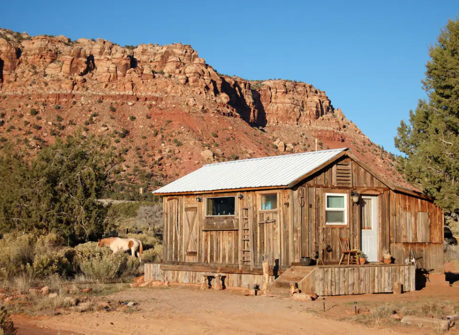 Sleep On A 400-Acre Ranch Among Towering Red Cliffs At Lyman's Place In Arizona