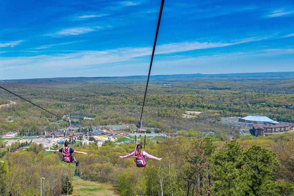 Fly High In The Sky On Soaring Camel The Longest And Fastest Zipline In Pennsylvania