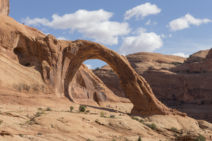 This 105-Foot-Tall Natural Arch In Utah Is Only Accessible By Hiking Trail And It's A Sight To Be Seen