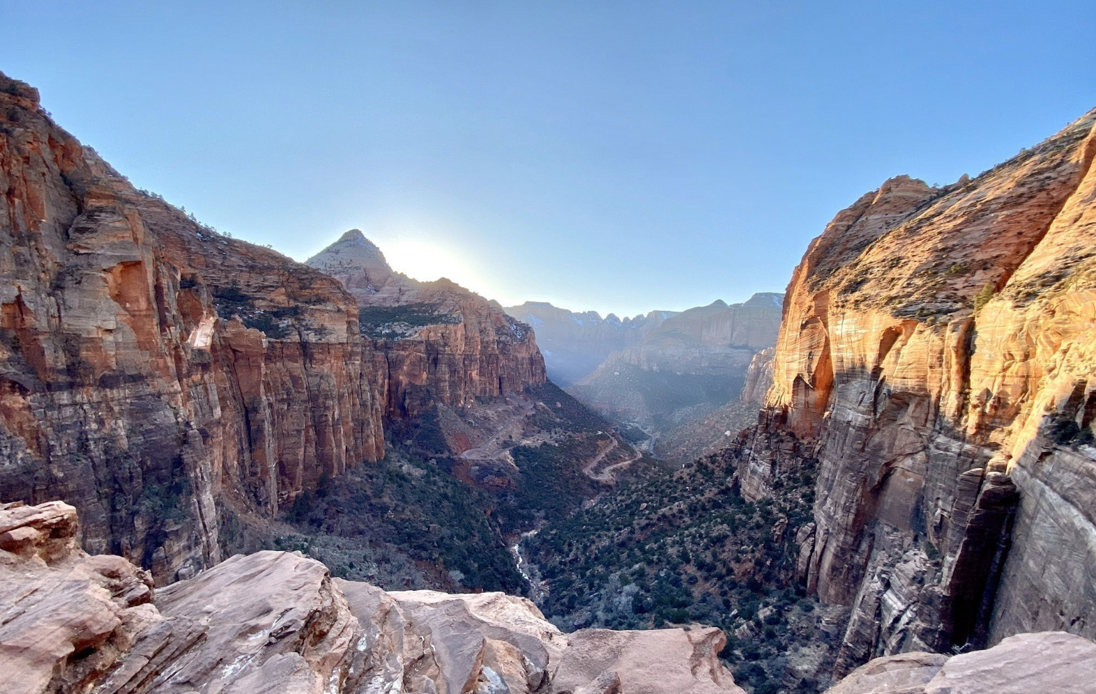 Off The Beaten Path In Zion National Park, You'll Find A Breathtaking Utah Overlook That Lets You See For Miles
