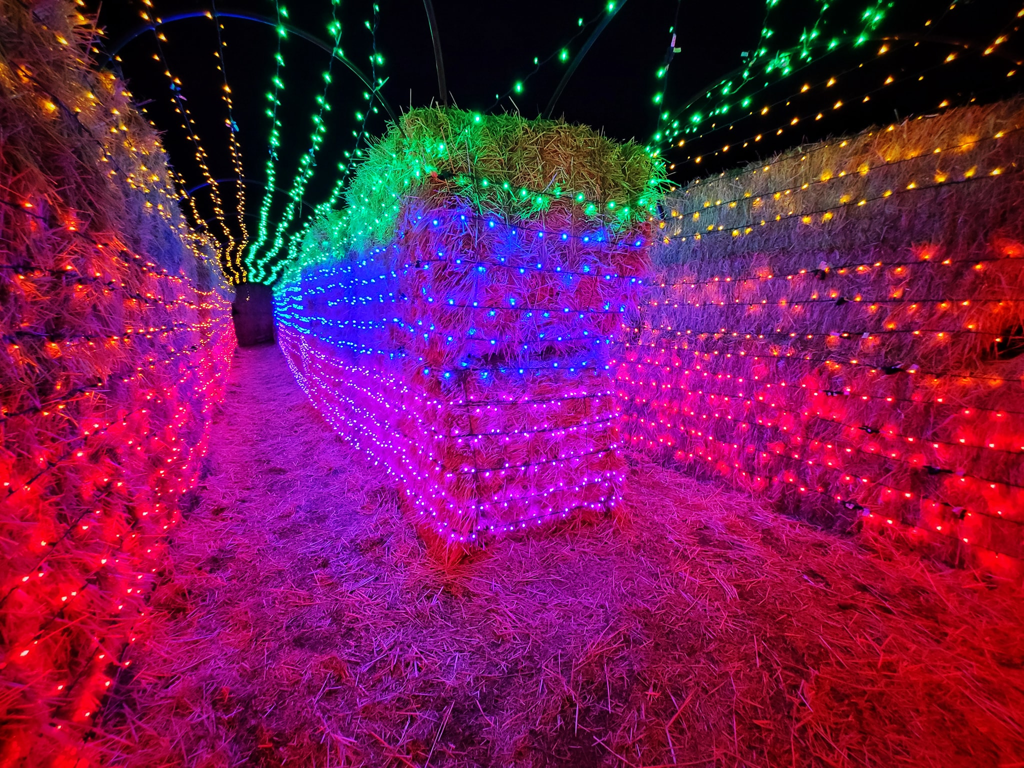 Grab Some Hot Chocolate And Get Lost In This Christmas Straw Maze In Idaho This Holiday Season