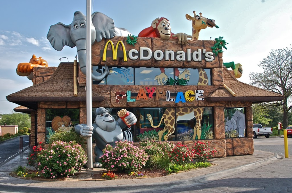 The Most Unique McDonald's In The World Is Right Here In Texas