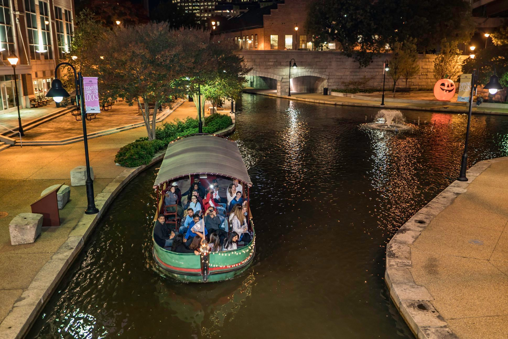 Take A Ride On This One-Of-A-Kind Canal Boat In Virginia: Riverfront Canal Cruises