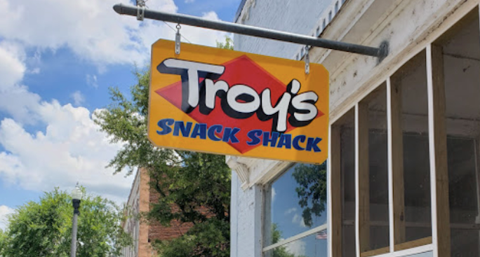 Chow Down On The Famous Double Slider At Troy's Snack Shack In Georgia