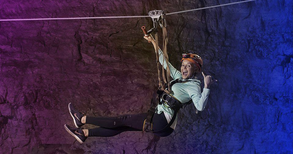 Take A Mega Zip Line Through A Cave For A Heart-Pumping Adventure In Kentucky