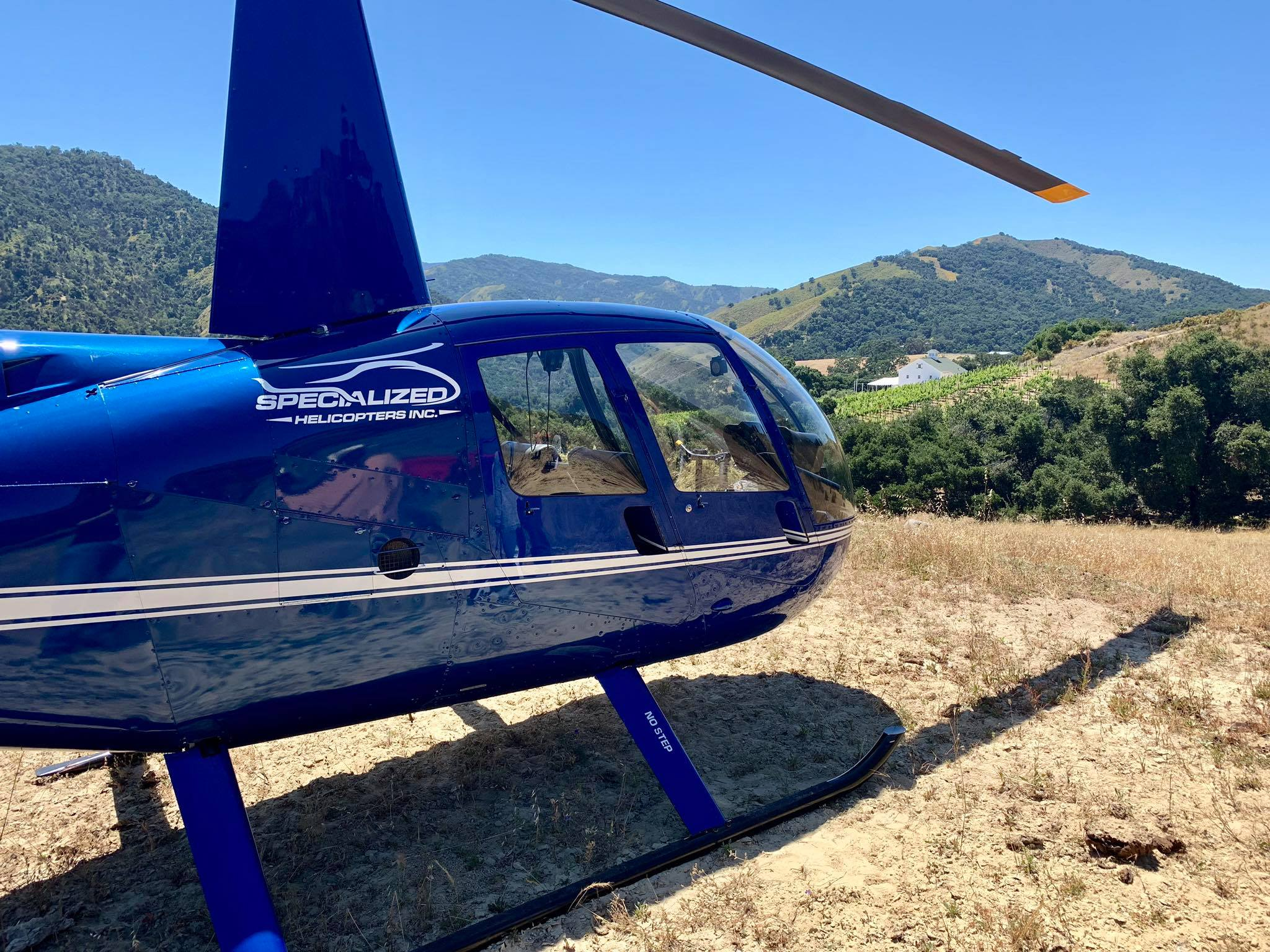 Fly In A Helicopter To Different Northern California Wineries With A Tour From Specialized Helicopters