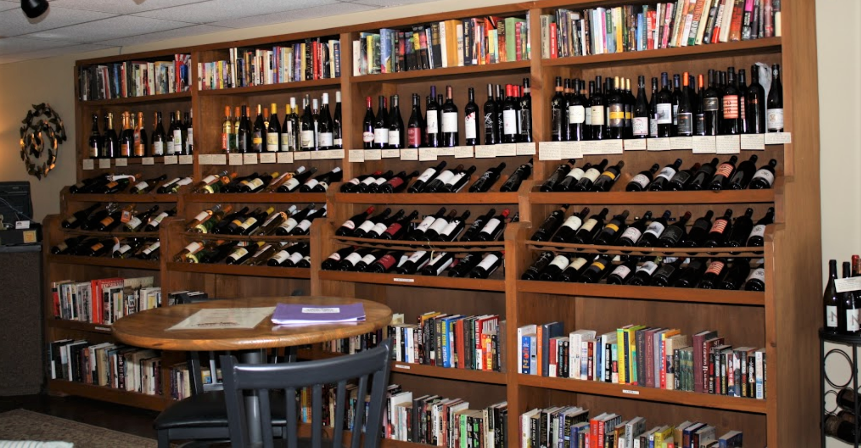 Sip Wine While You Read At This One-Of-A-Kind Bookstore Bar In Maryland