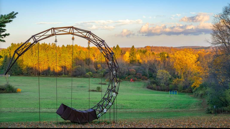 The Unique Day Trip To Stone Quarry Hill Art Park In New York Is A Must